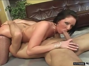 Big oiled hot ass diva in bikini moaning when feasted hardcore missionary