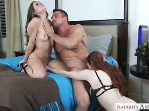 Johnny found that Cassidy and Veronica were getting cozy with each other. He...