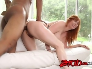 Lauren Phillips Drilled Seduced Her Black Gym Instructor