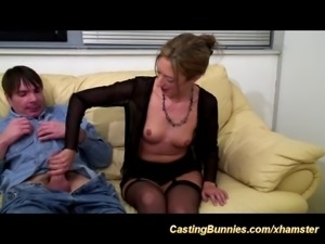 french chicks first sex casting