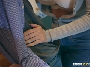 He was brazen to suck off his wife's hot friend right in front of her. The...