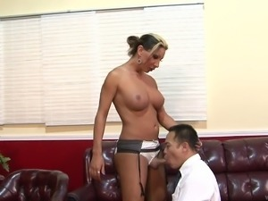Hot MILF enjoyed getting fucked in style