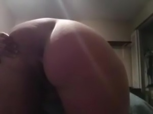 Big Tit BBW Pissing on the Bedroom Floor