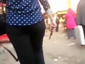 arab hijab candid ass (egyptian streets)