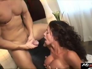 Ariella Ferrera is a busty brunette who adores being fucked well