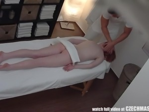She doesn't know that each and every dirty act in this spa will be recorded....