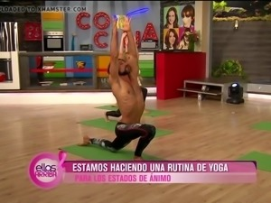 Sexy Yoga Thong TV Show