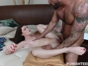 he broke into the house and fucked helpless nina