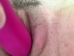 Wife's ultra tight pussy solo orgasm