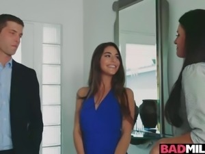 Arielle's bf gets a load of ass and tits