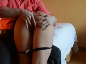 AMATEUR SPANK AND FUCK