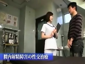 Sensual Asian lady pleases a stiff cock with her gifted han