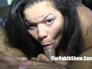 dick slober lady queen redboned creo fucks hairy paki