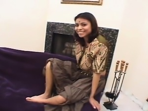 Peculiar homemade Indian elegance cheating and knocking tog