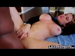 Busty and big ass Corrina Blake gets hammered by Lexington Steele
