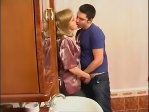 STP4 Mom Catches Him Wanking And Ends Up Fucked !