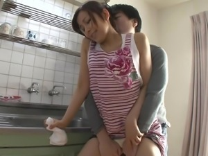 bubble butt japanese milf wants a big dick