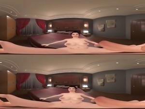Hotel Bedroom with Tiffany