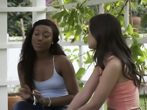 Cute black chick Chanell Heart is a BF thief and she fucks like crazy