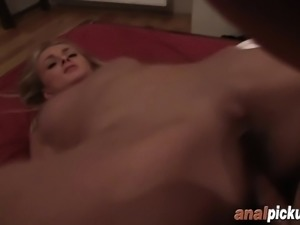 Andjela loves waking up to a big dong up her A HOLE