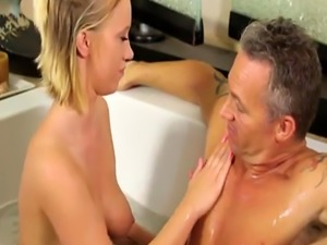 Newly hired blonde Bailey Brooke gets fucked by Marcus London
