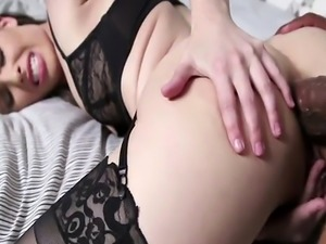 Anal fucking with brunette slut Casey Calvert and Shane Diesel