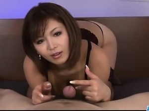 Serious POV oral scenes with superbMai Kuroki