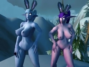 Warcraft Snow Bunnies