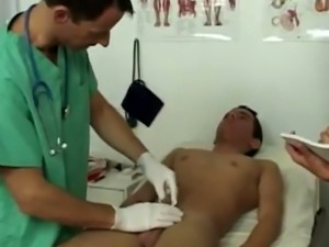 Muscle gay doctor sex video in the office Dr James asked me