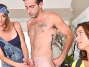 BadMILFS - Having Threesome With My Stepmom
