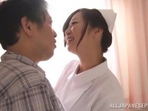 Beautiful Japanese Nurse Serves A Yummy Blowjob In The Hospital