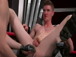 Gay grandpa fisting movie Axel Abysse and Matt Wylde bathe each other