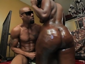 Mia Milan is a curvy black babe who will do anything for a pulsating dick