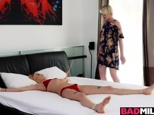 Pretty hot babe Haley Reed gets a huge cock