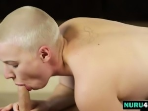 Masseuse Riley Nixon fucks a client Seth Gamle