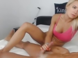 Big cock fucking pretty blonde