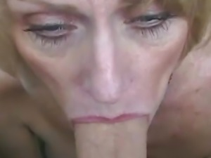 Grandma Loves The Blowjob Action