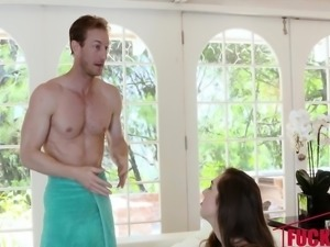 Lexi Lovell in Brand New Babysitter Gets Banged