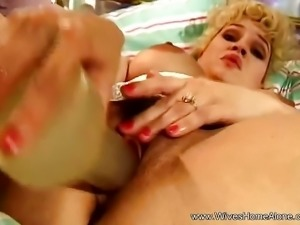 Big Nipples On Horny Solo MILF