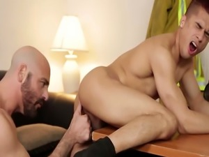 Adam enjoys licking and banging tight asshole
